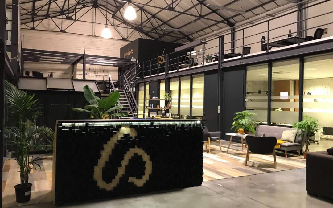 The Office Makeover, 48 hours to turn our warehouse space into a top-notch office